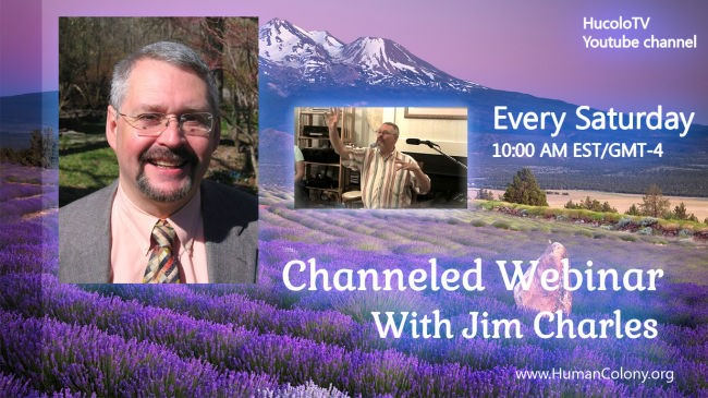 Saturday Channeled Webinar With Jin Charles Hucolo