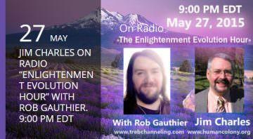 Jim Charles - Enlightenment Evolution Hour