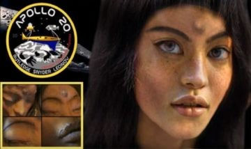 MONA LISA :: An Alien Space Ship on the Moon. Woman Found in a 1 5 Billion Year Old Spacecraft.