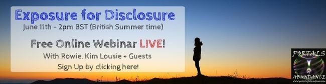 Exposure for Disclosure http://rowie.club
